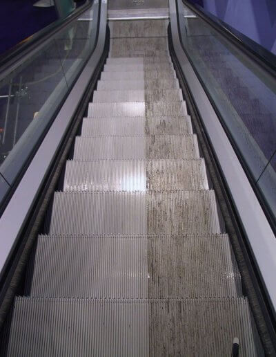 ESD Escalator Aesthetics step cleaning12