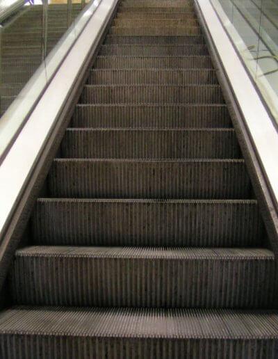 Escalator Step Cleaning