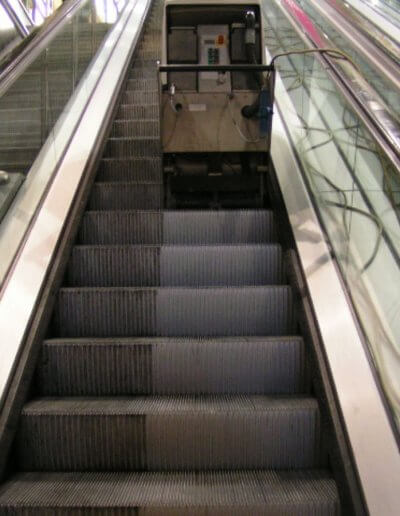 ESD Escalator Aesthetics step cleaning24