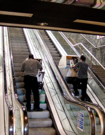 ESD Escalator Aesthetics step cleaning25