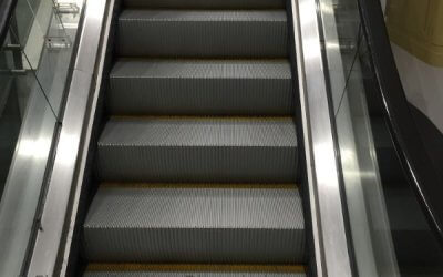 Escalator Cleaning George Best Airport, Belfast