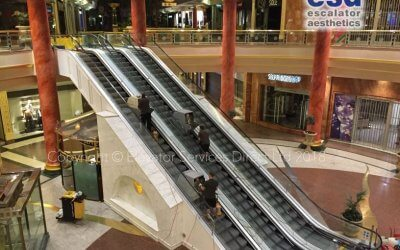 Escalator Cleaning INTU Trafford Centre
