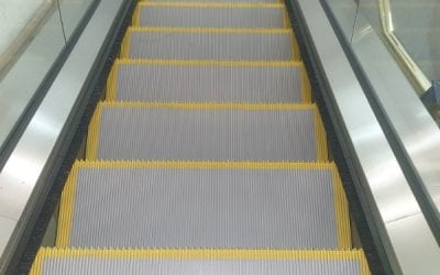 Escalator Step Safety Demarcation Lines Plymouth