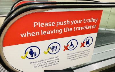 Escalator & Travelator Safety Media, Woolwich.