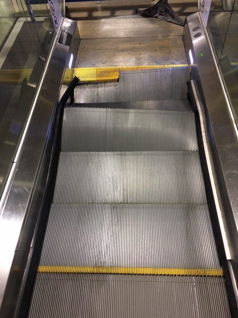 Escalator Damage