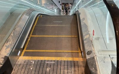 Escalator Cleaning at The Londoner Hotel.